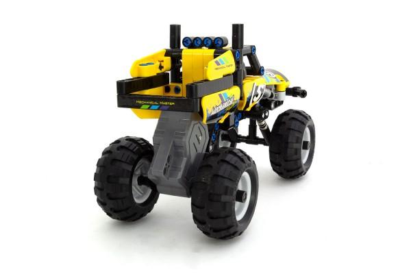 Teknotoys Active Bricks Pullback Off-Road Fahrzeug gelb
