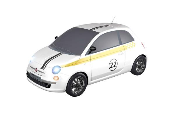 Teknotoys Fiat 500 Sport #22 Slot-Car 1:43