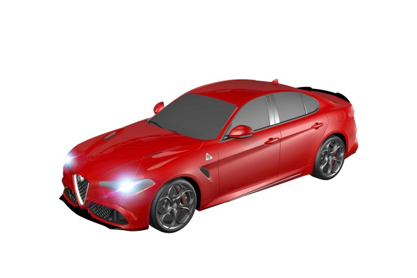 Teknotoys Alfa Romeo Giulia rot Slot-Car 1:43