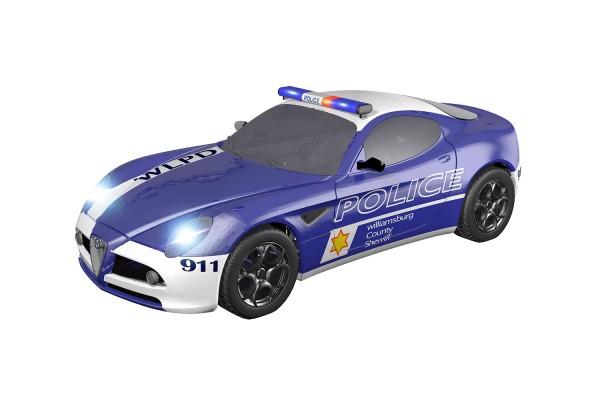 Teknotoys Alfa Romeo 8C Police Slot-Car 1:43