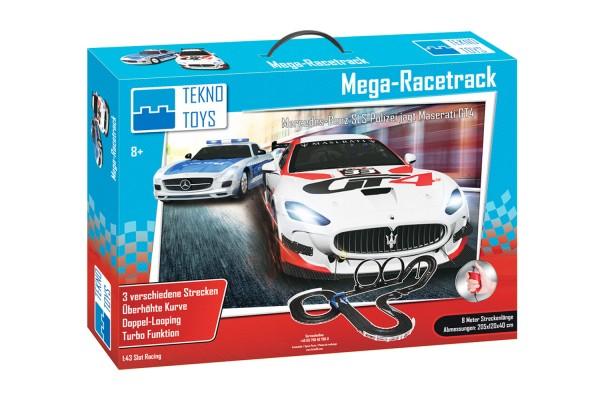 Teknotoys Rennbahn-Set Mega-Racetrack Maßstab 1:43
