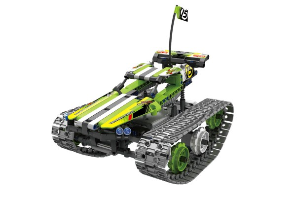 Teknotoys Active Bricks RC Crazy Car Off-Road Ketten-Fahrzeug