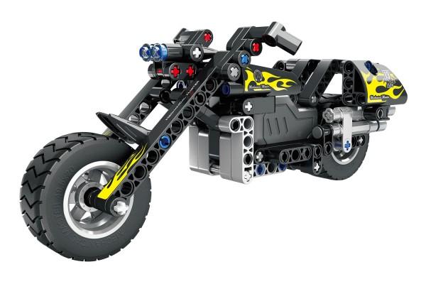 Teknotoys Active Bricks Pullback Motorrad