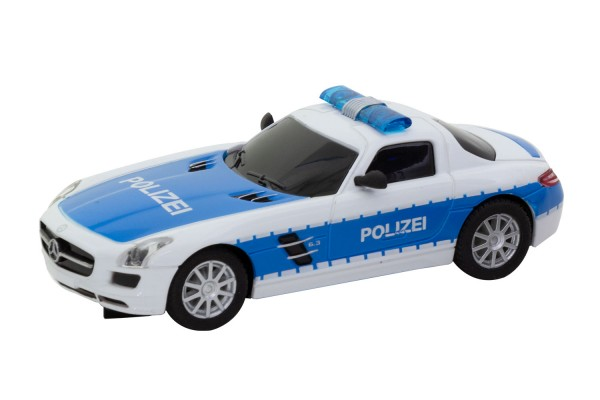 Teknotoys Mercedes-Benz SLS POLIZEI Slot-Car 1:43