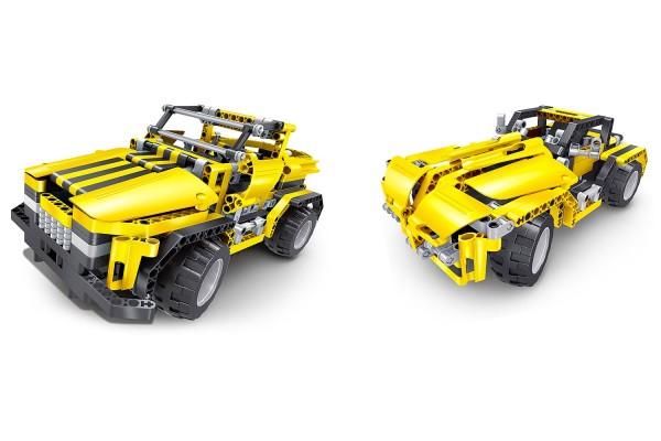 Teknotoys Active Bricks RC 2in1 Pickup Truck & Roadster gelb