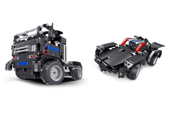 Teknotoys Active Bricks RC 2in1 Truck & Sportwagen