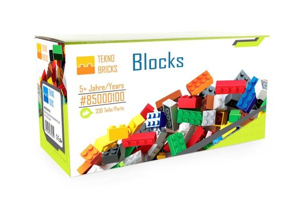 Teknotoys Blocks Bausteine-Set mit 330 Teilen