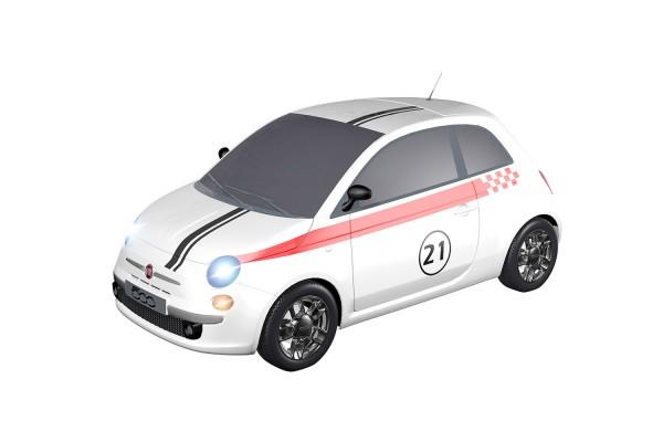 Teknotoys Fiat 500 Sport #21 Slot-Car 1:43
