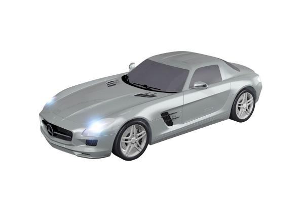Teknotoys Mercedes-Benz SLS silber Slot-Car 1:43