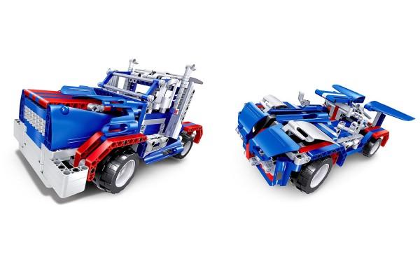 Teknotoys Active Bricks RC 2in1 Truck & Sportwagen