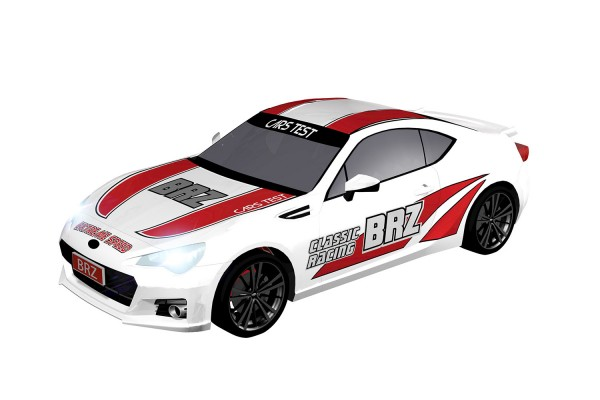 Teknotoys Subaru BRZ Racing Slot-Car 1:43