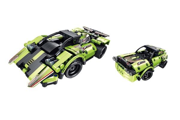 Teknotoys Active Bricks RC 2in1 Racing Cars mit Fernsteuerung grün